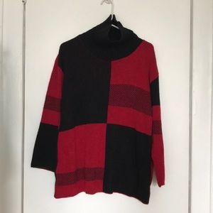Boohoo Oversized 80s-Style Sweater